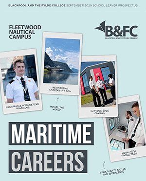 Maritime Careers brochure - Fleetwood Nautical Campus